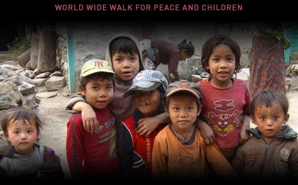 World Wide Walk for Peace and Children
